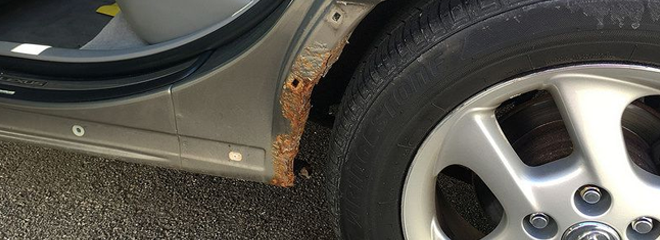 Check For Rust before Buying a Used Car