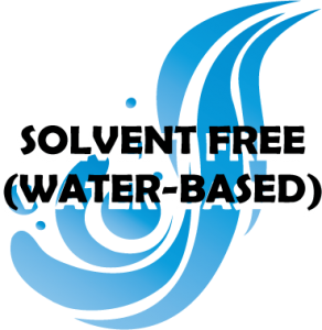 solvent free water based