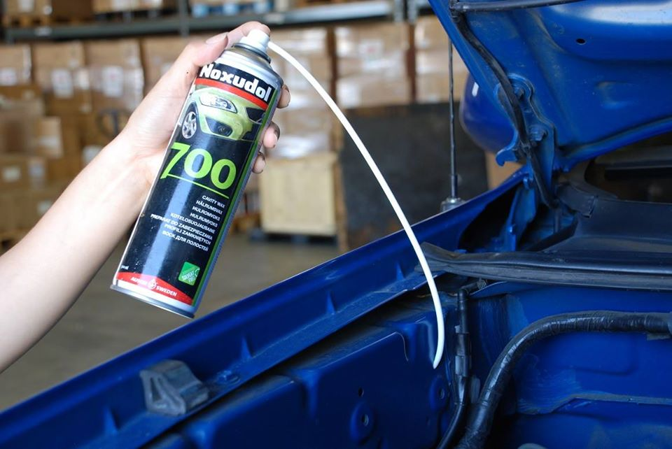 rustproofing and undercoating products for your car